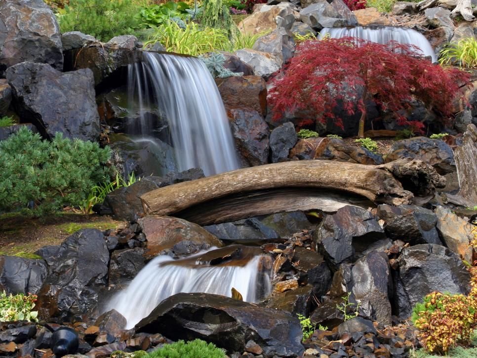 waterfall designs - Waterfall Landscape Design Ideas