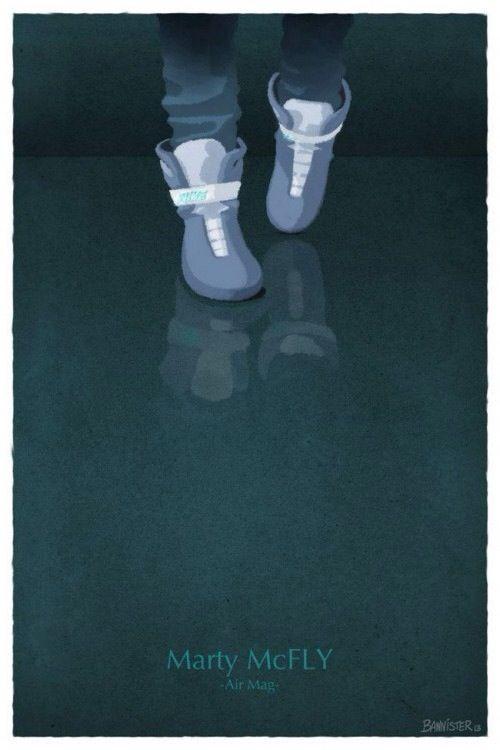 MartyMcFly shoes  #MartinSeamus #MartyMcFly #BacktotheFuture #NikeMag10 #MartyMcFlyshoes