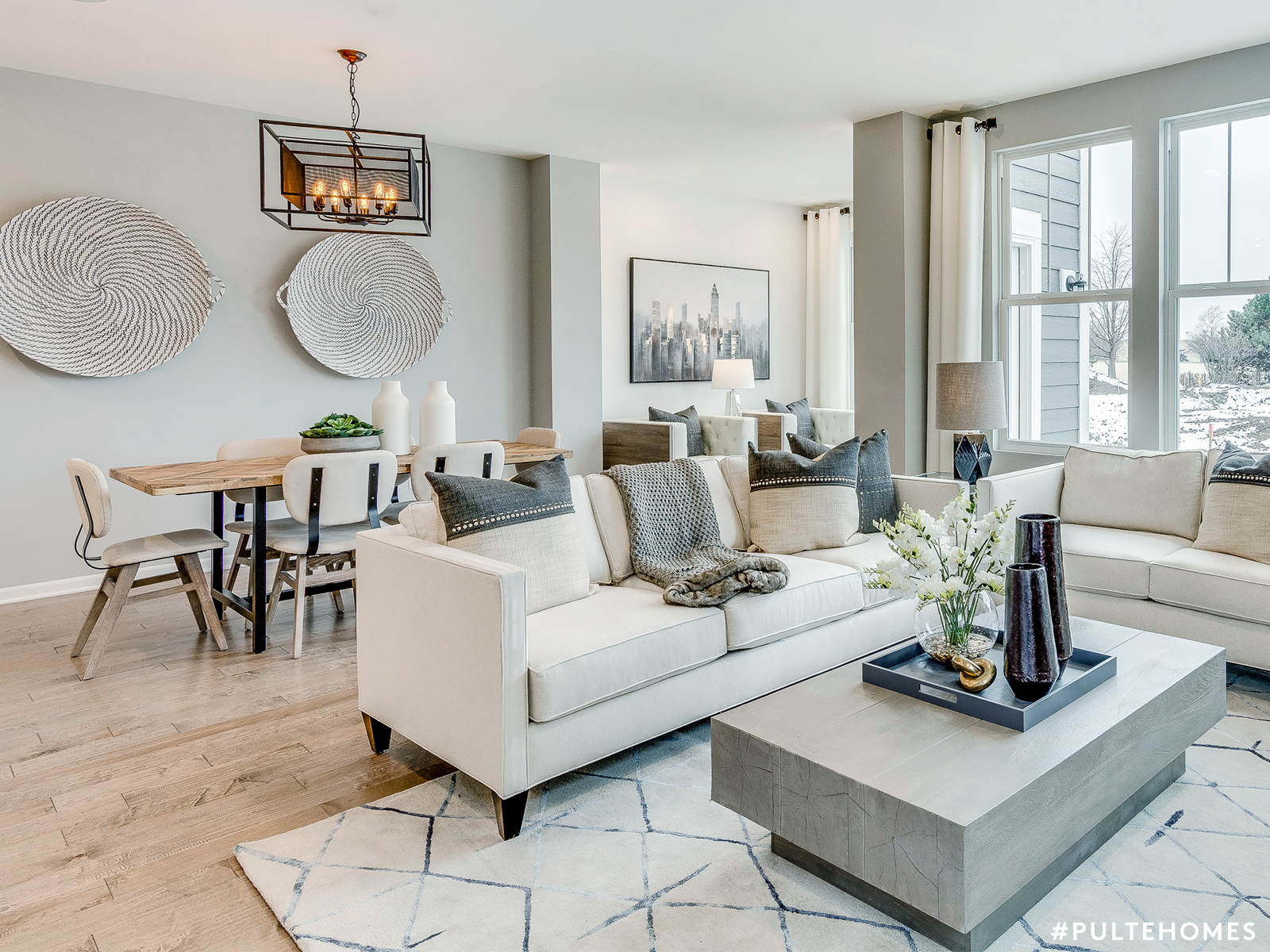 One Big Happy Room Makes For One Bigger Happier Family Our Open Floor Plans Mean T Sophisticated Living Rooms Design Your Dream House Comfortable Living Rooms