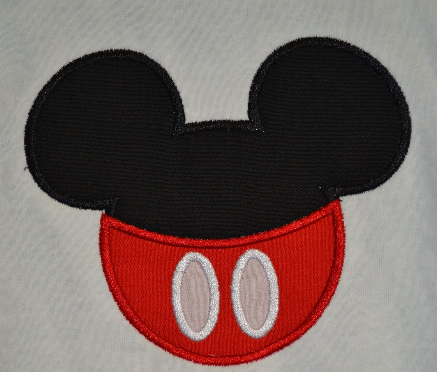 Custom Made to order Mickey Mouse Silhouette wearing pants Shirt ...