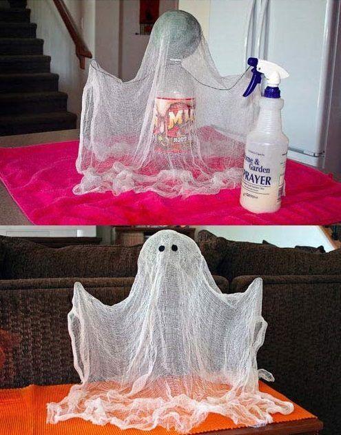 13 Haustürdekorationen für ein Halloween Too Bouh! - MyKingList.com-#halloween #hausturdekorationen #mykinglist #decorationentrance