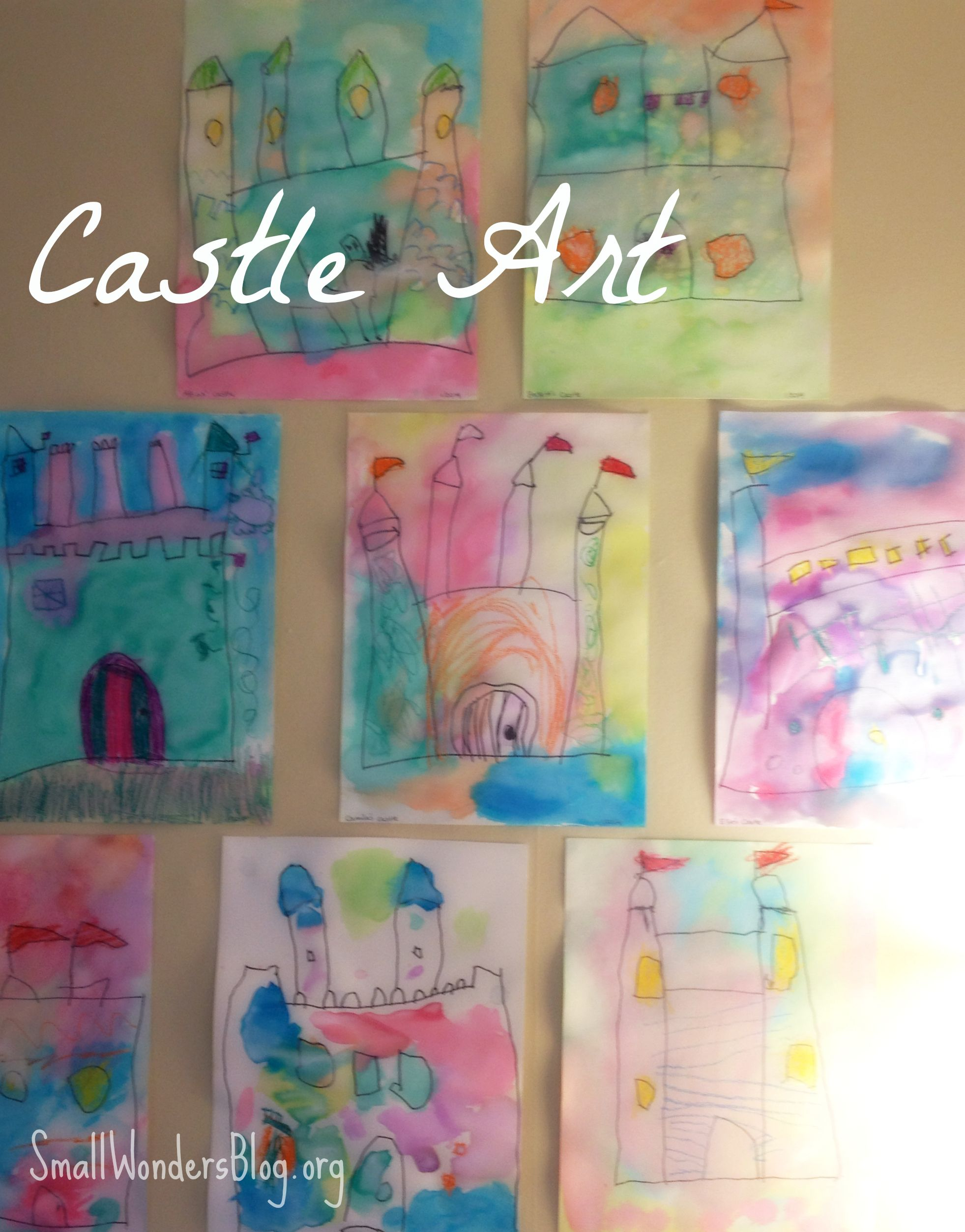 Castles Fairy Tale Unit King Knights & Dragons Crafts