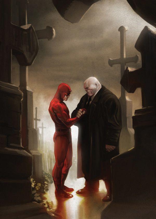Marvel Daredevil The Devil Of Hell's Kitchen Displate Posters