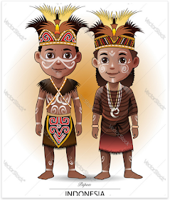 Jatmika Pakaian Adat Tradisional Di Indonesia Ilustrasi Karakter Ilustrator Ilustrasi Vektor