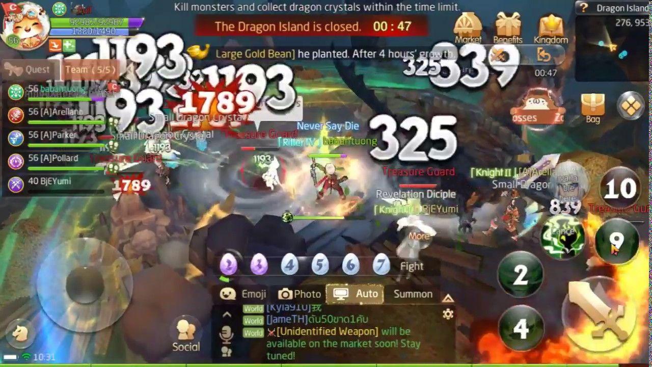 Dragon Treasure : Laplace M Ranger gameplay | Babah TuOng Youtube