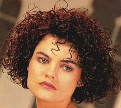 This Is What I Don T Want My Hair To Look Like Mushroom Head Short Permed Hair Curly Hair Styles Hairstyle