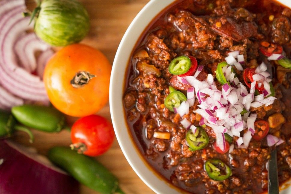 paleo beanless chili