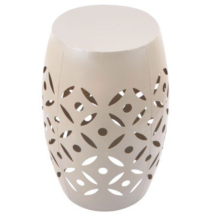 Peachy Mainstays Atmore Cutout Ceramic Garden Stool Walmart Com Gmtry Best Dining Table And Chair Ideas Images Gmtryco