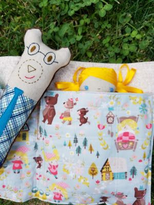 Quilt Taffy: Goldilocks and the Three Bears Softies   Craft Ideas ... : quilt taffy - Adamdwight.com