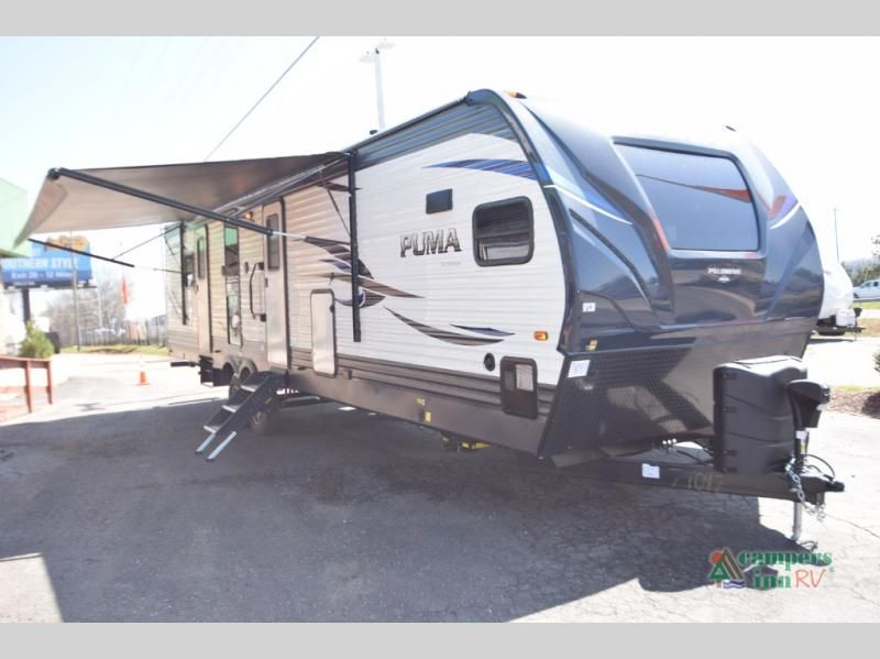 New 2019 Palomino Puma 31 Fkrk Travel Trailer At Campers Inn
