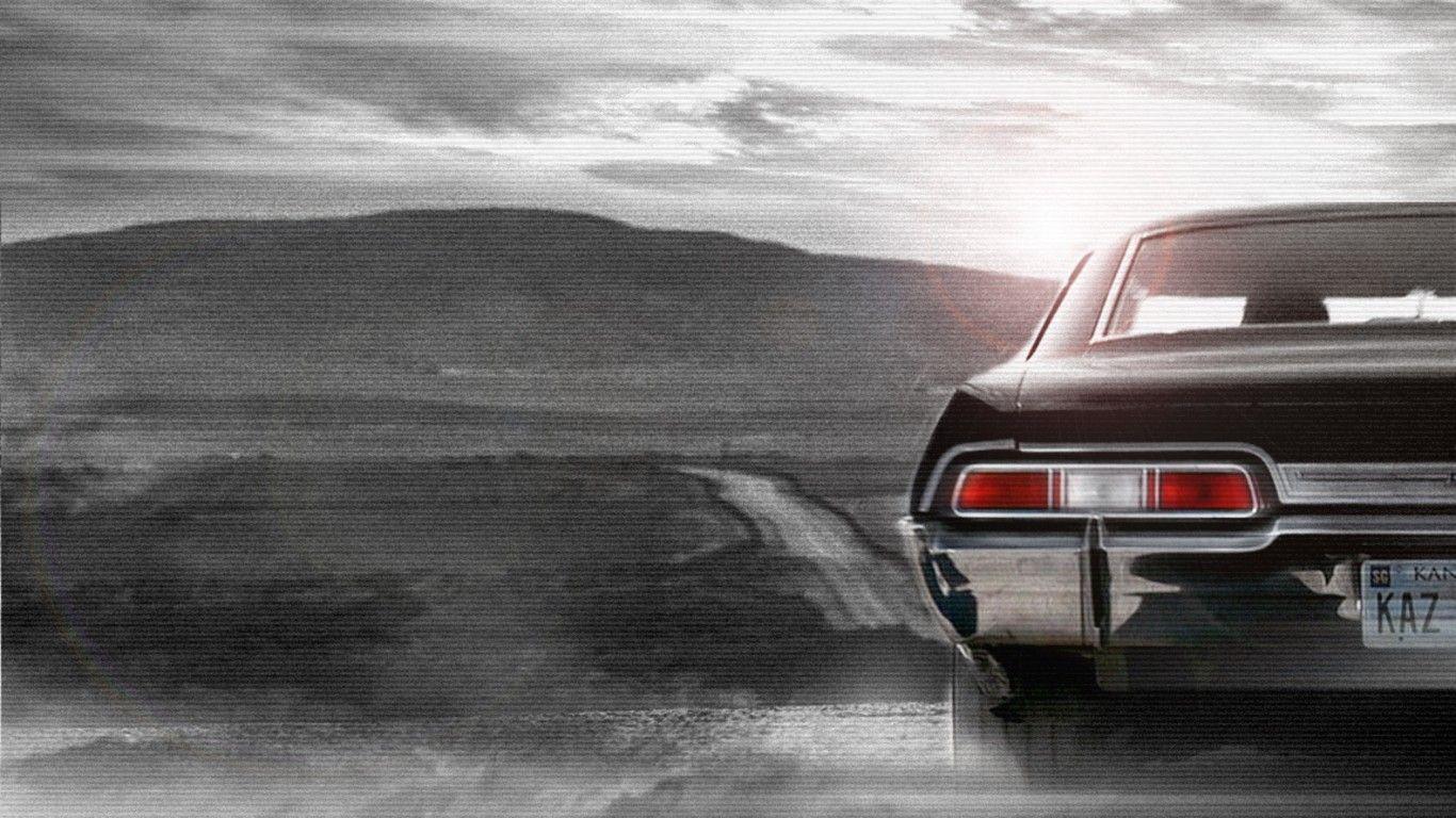 Supernatural Car Wallpaper