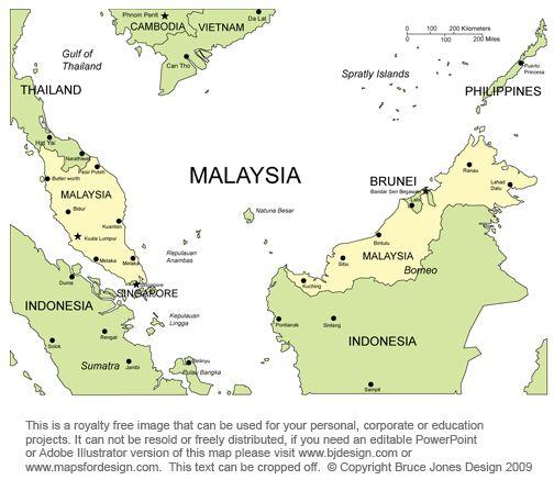 singapore map asia  Google Search  Maps  Pinterest  Singapore