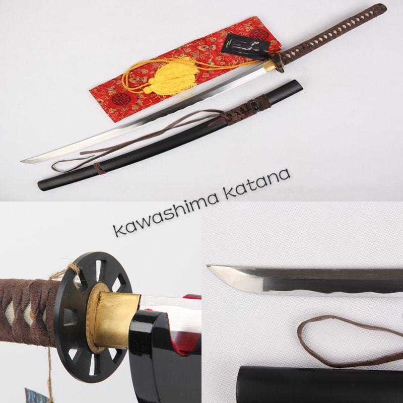 Handmade 1045 Carbon Steel Samurai Sword Katana Sharp Edge