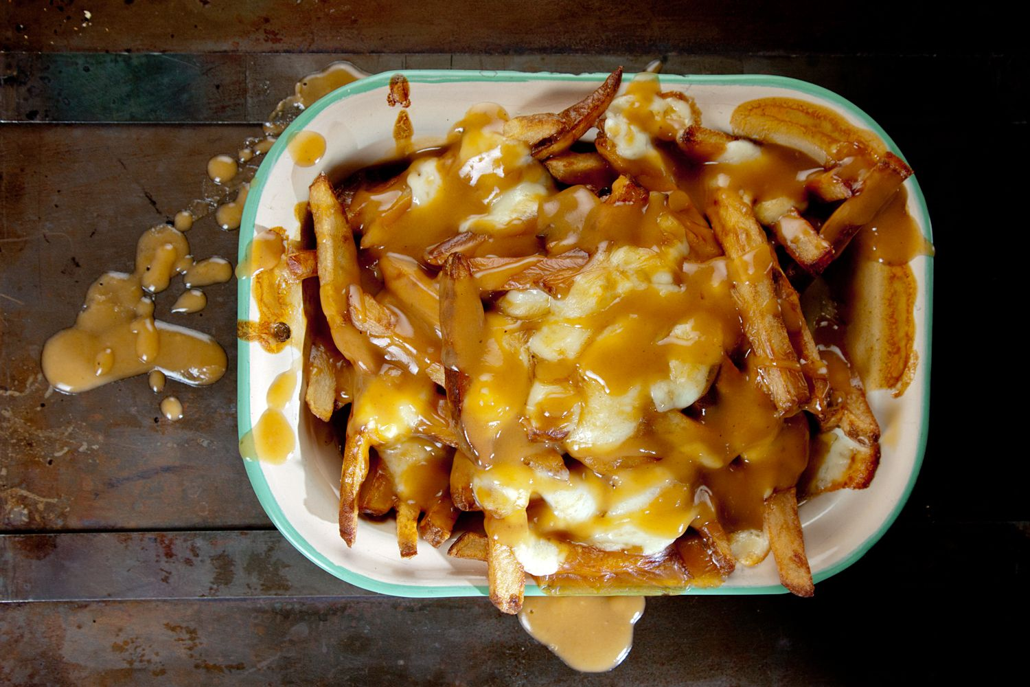 Poutine Gravy Recipe   I Wash You Dry   Canadian Cheese Fries And Gravy