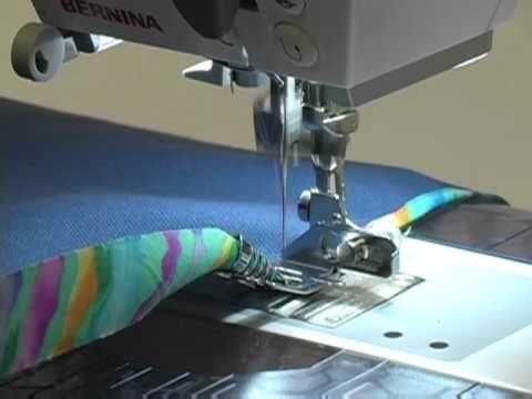 Bernina presser feet - the colorful world of sewing