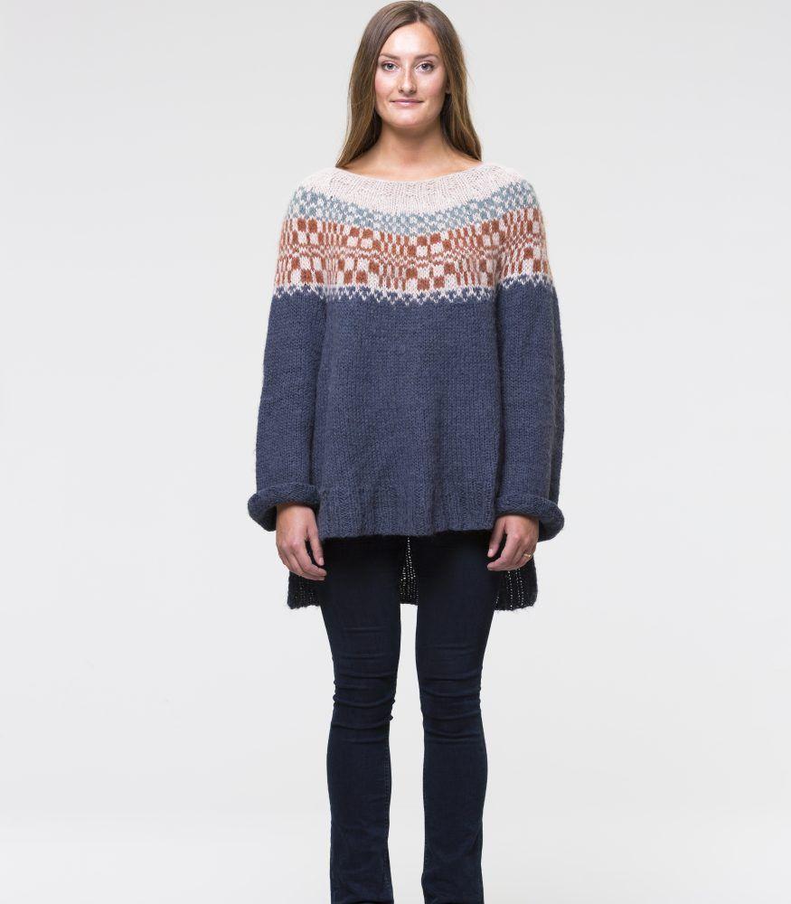 90b1d0b7 Fiskerens genser – SKAPPEL | Strikk | Genser, Strikking og Strikk