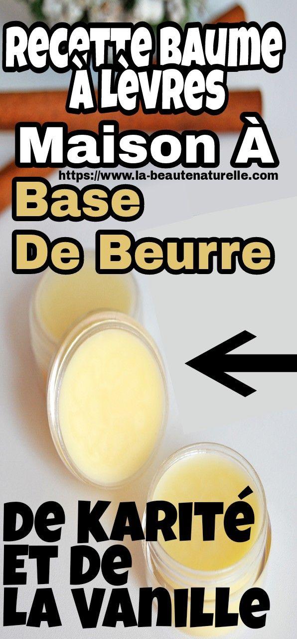 Recette Baume à Lèvres Maison à Base De Beurre De Karité Et De La Vanille Vanille Beurre De In 2020 Homemade Lip Balm Recipe Homemade Lip Balm Lip Balm Recipes