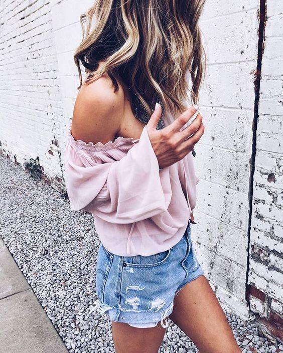 Cosas que tienes que hacer antes de usar una blusa sin hombros