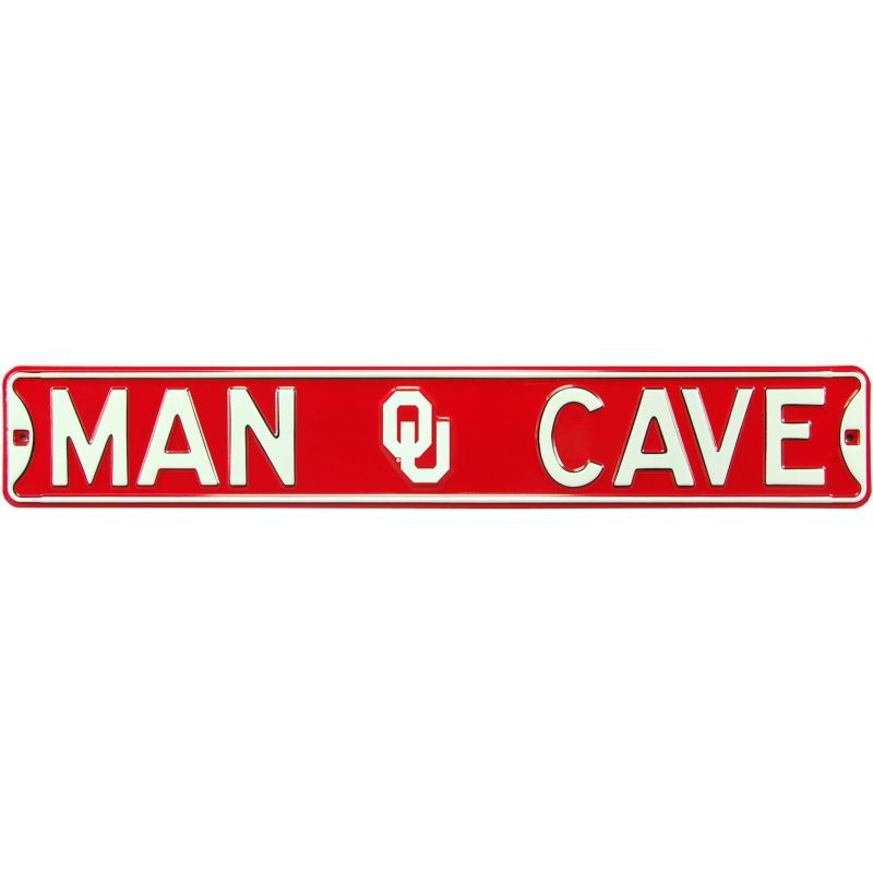 Authentic Street Signs Oklahoma Sooners 226 Man Cave Street