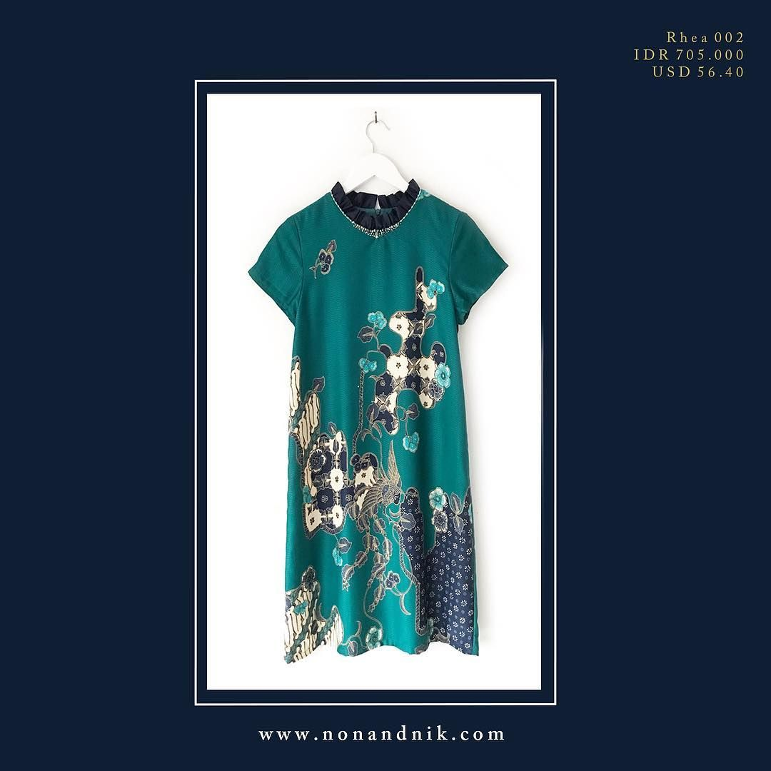 RHEA Has Come In New Batik Design ! . . Available In Size