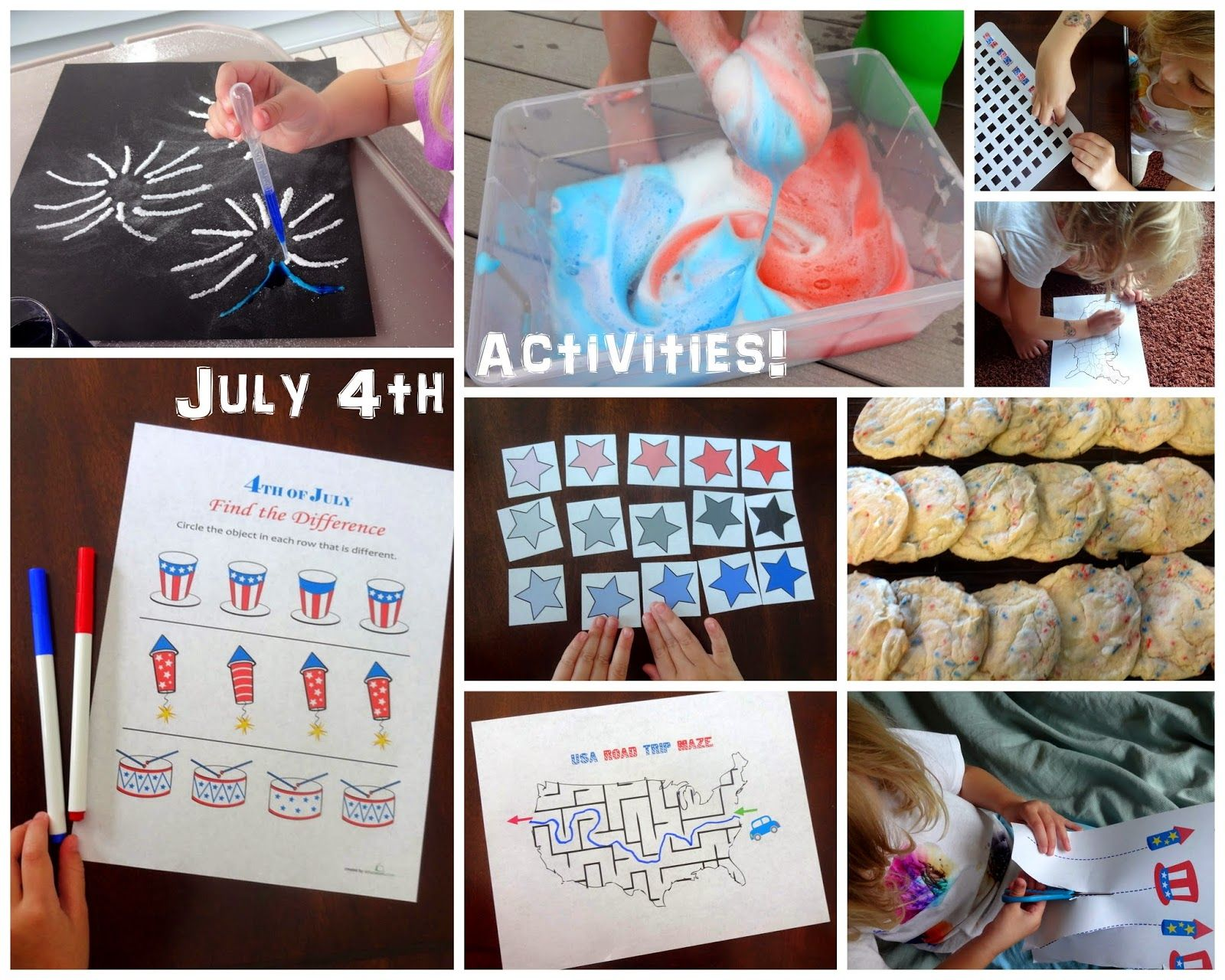 July 4th Activities For Kids