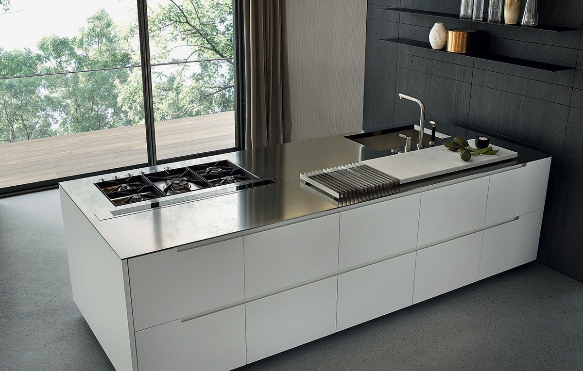 Stainless steel, steel and islands on pinterest