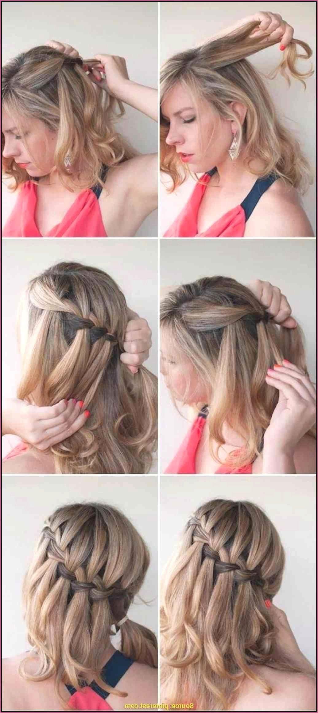 haarband binden kurze haare