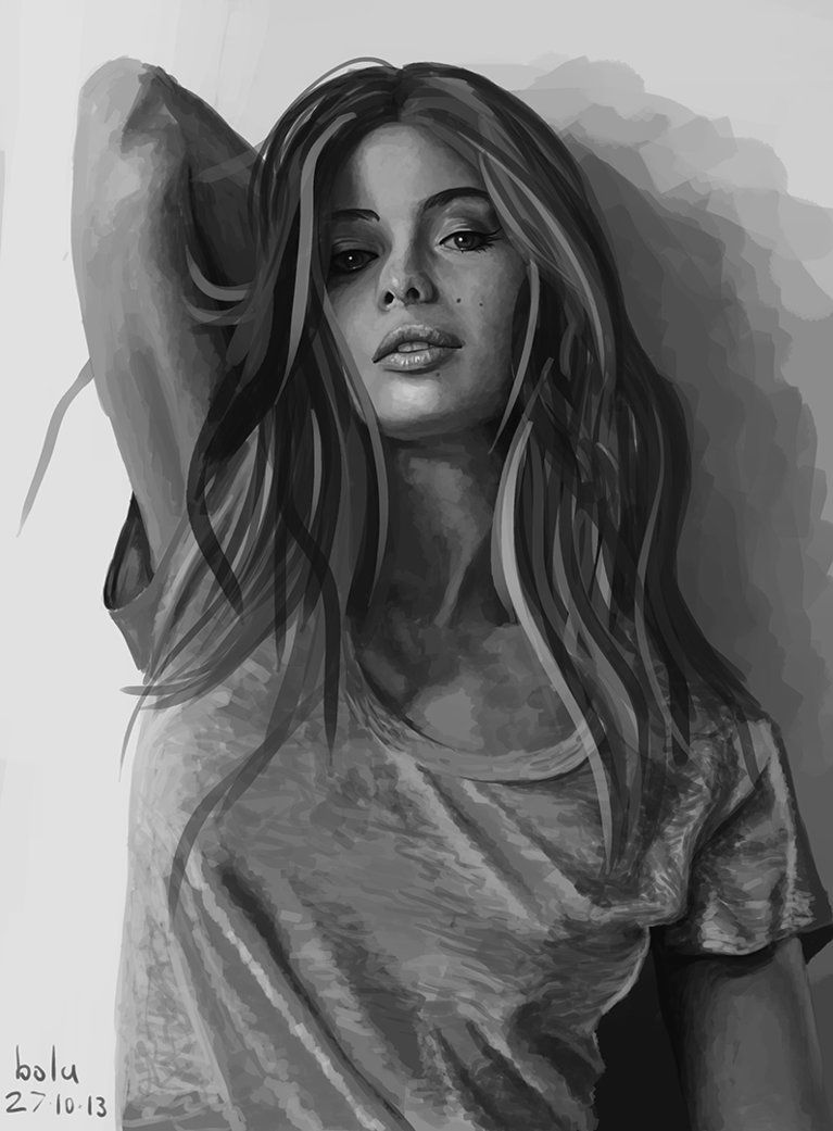 Marie-Ange Casta Speed Painting by markybola