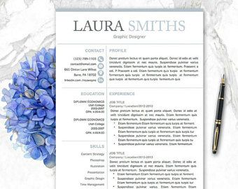 Modern Cv Templates Pages  Cv Templates Mac Pc Minimalist Resume