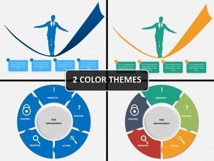 Risk Management PowerPoint Template Risk management, Management - force field analysis template
