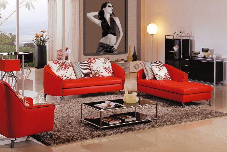 Minimalist Living Room Red Sofa Inside Amazing Inspiring Red