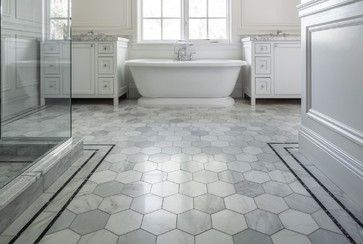 Why Bathroom Floors Need To Move Bathroom Floor Tiles Hexagon Tile Bathroom Best Bathroom Flooring