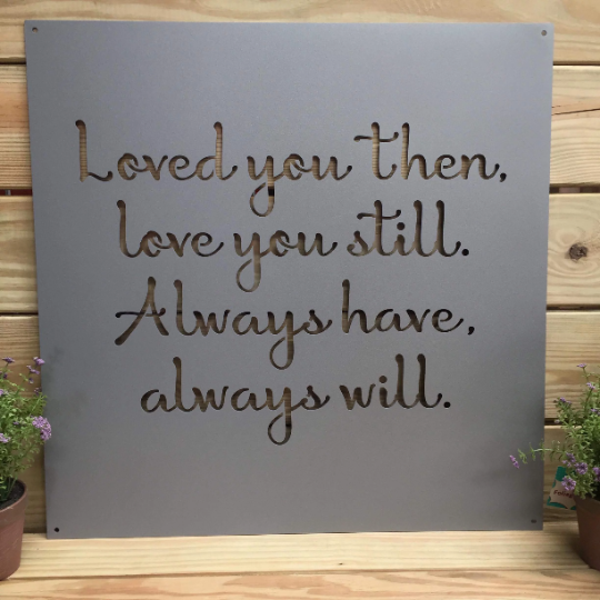 Make Your Own Sign Custom Metal Quote Sign And Sayings Inspirational Personalized Sign 24 Custom Metal Signs Metal Quote Metal Working Projects