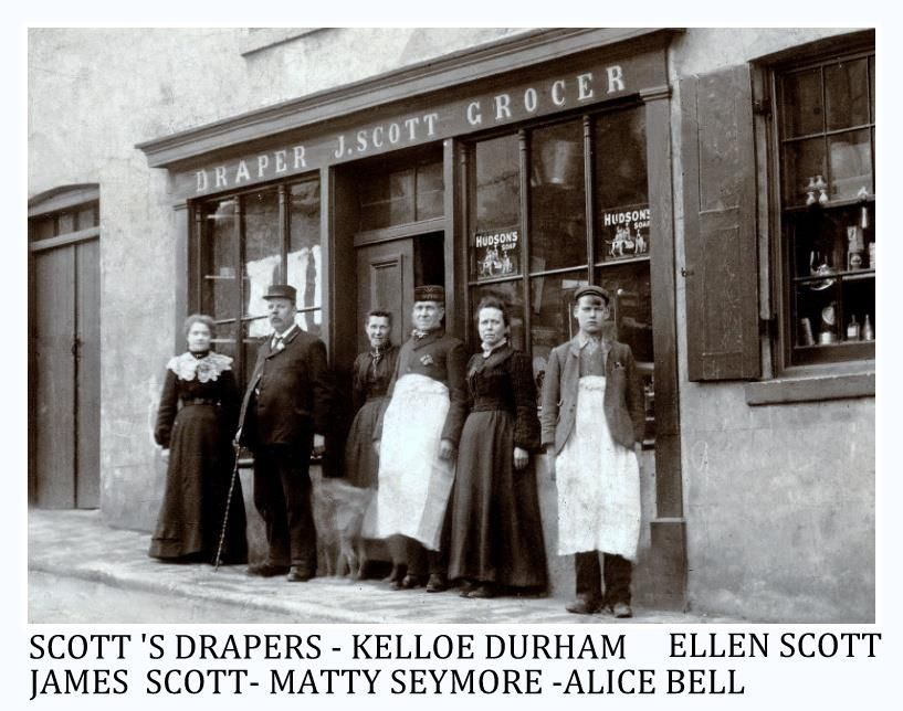 SCOTT DRAPER SHOP KELLOE DURHAM ENGLAND