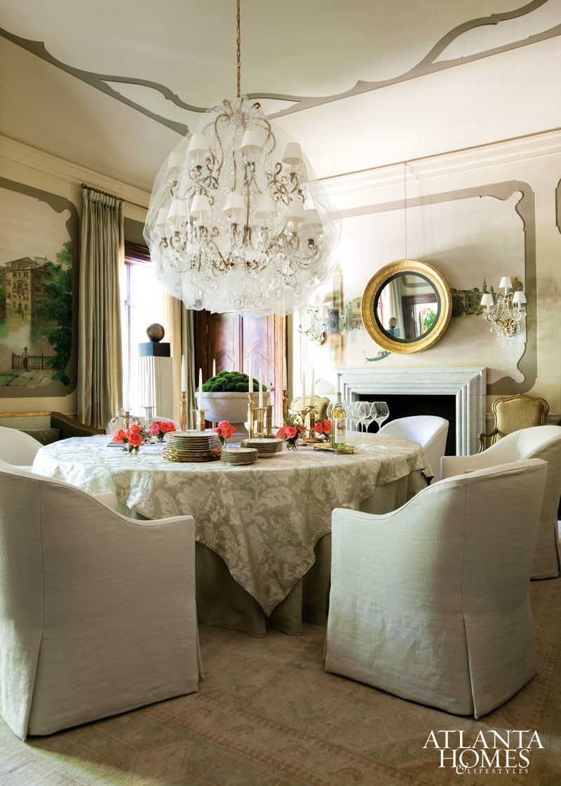 design by melanie turner and cristi rajevac melanie turner interiors photographed by erica george formal dining roomsdining room tablesround. Interior Design Ideas. Home Design Ideas