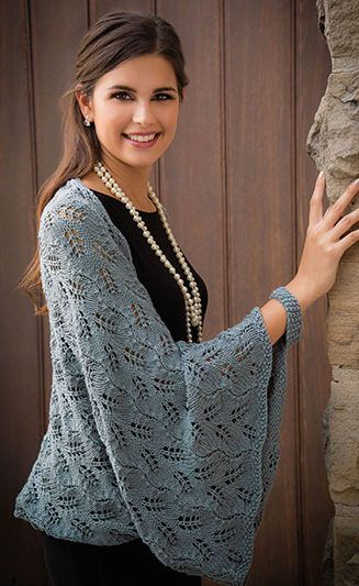 Shrug and Bolero Knitting Patterns | Seelenwärmer, Stricken und ...