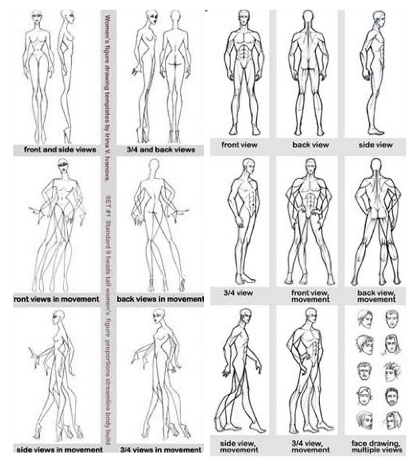 Wondrous Figure Drawing Fashion Design » Picture 217 | models ...