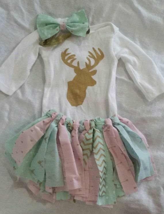 Hey, I found this really awesome Etsy listing at https://www.etsy.com/listing/255439945/cute-deer-fabric-tutu-outfit-0-3-months