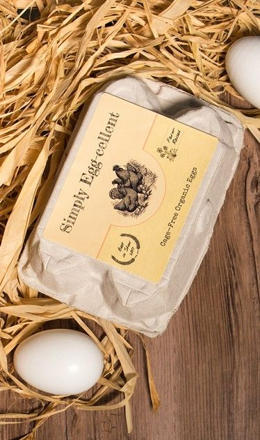 Producing your own eggs? Create custom labels for your egg cartons ...