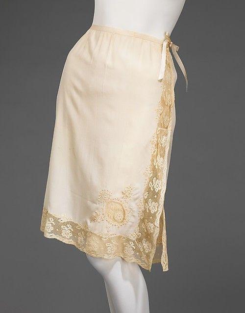 91f539ae8 Half Slip 1930-1935 The Metropolitan Museum of Art
