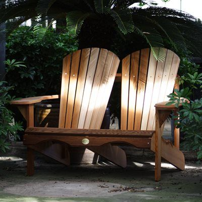 The Bear Chair Company BC800C Red Cedar Loveseat