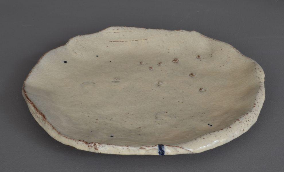 Plat - D : 28 cm - En vente à la galerie - on sale in the gallery