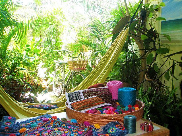 ~ working in the garden ~ by AowDusdee, via Flickr.looks like a dream :)