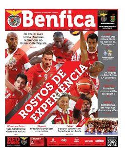 "Benfica Glorioso: REFERÊNCIAS DO CLUBE NA PRIMEIRA PÁGINA Jornal ""O Benfica"""