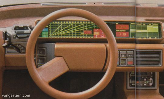 Vongestern blog bertones lamborghini athon 1980 for Studium interior design