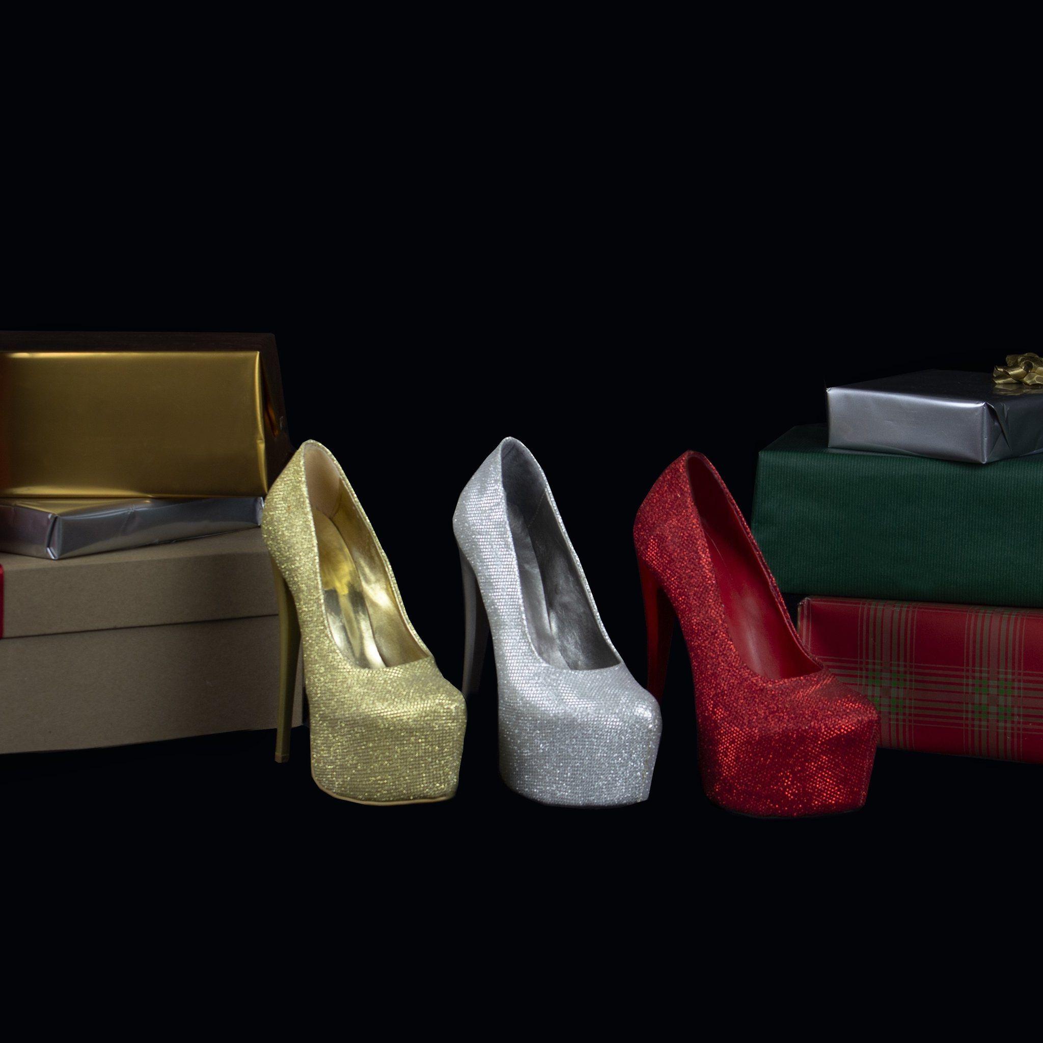 e6428e87b731 Sparkling High HeelPumps – Tajna Club