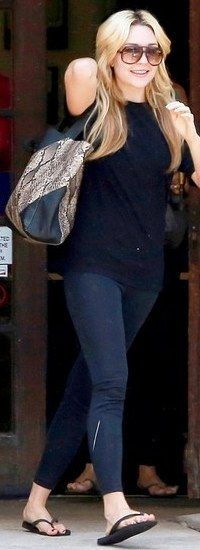 Amanda Bynes New Balance Leggings