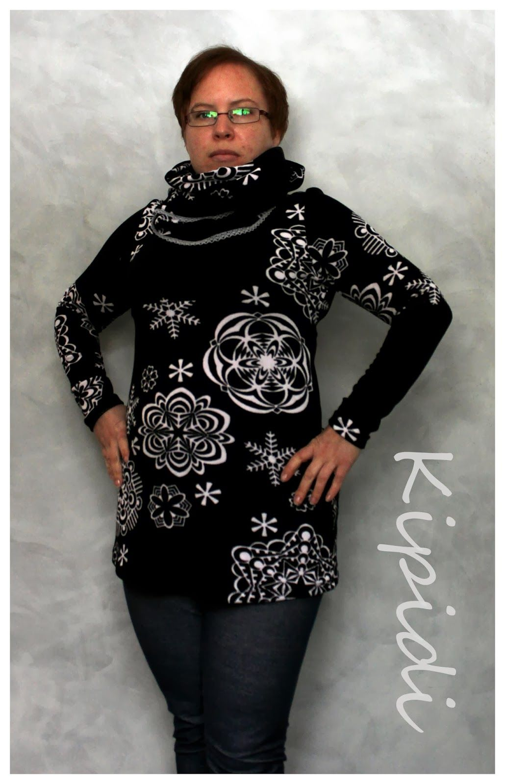 Onion 2035 tunic with snood   My crafts   Pinterest   Snood and Craft
