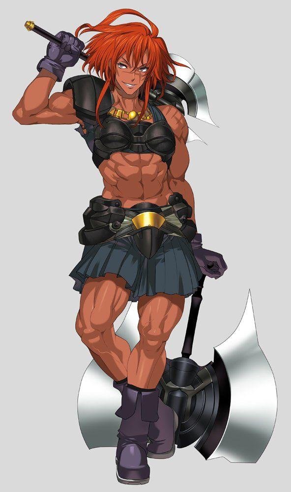 Tweetdeck Warrior Girl Warrior Woman Female Character Design