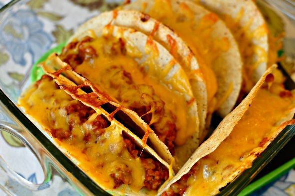 Oven Tacos - Meg's Everyday Indulgence